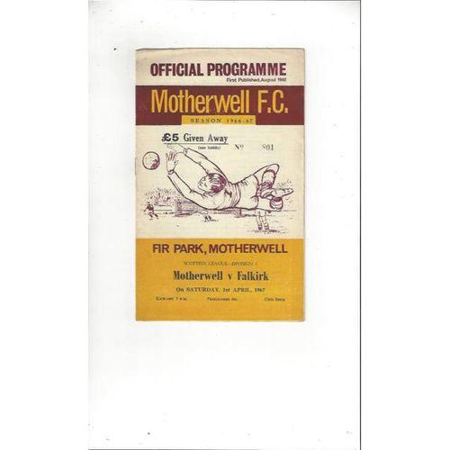 Motherwell Football Programmes