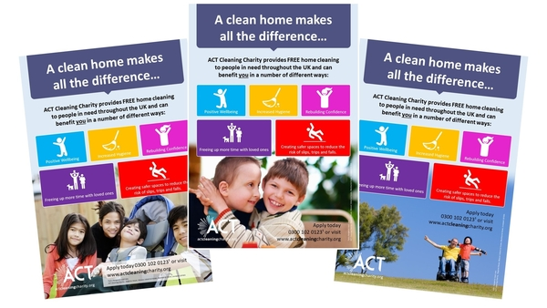 Printed awareness posters from Smart Print