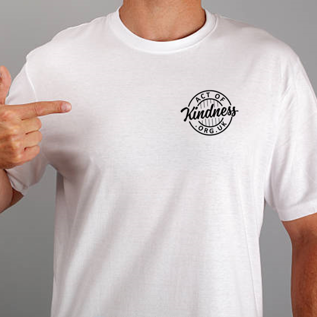 Act Of Kindness T-Shirt (Small logo)
