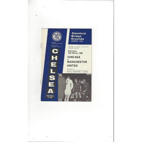 Chelsea v Manchester United 1965/66