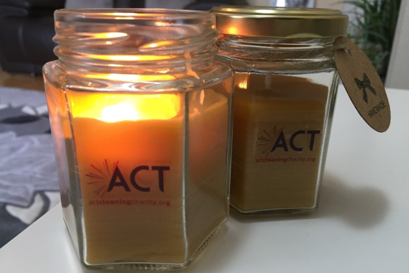 Act, cleaning, charity, shop, buy, support, purchase, gift, gifts, products, leather, candles, stationery, notepads,