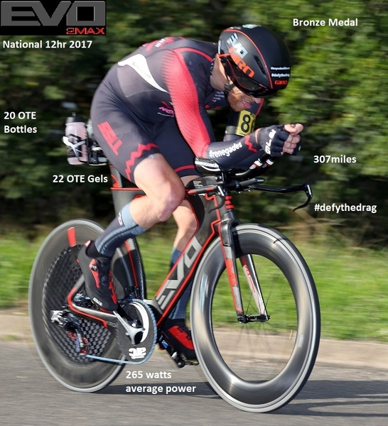 Andy Jackson sets new PB's on his Kronos R-9