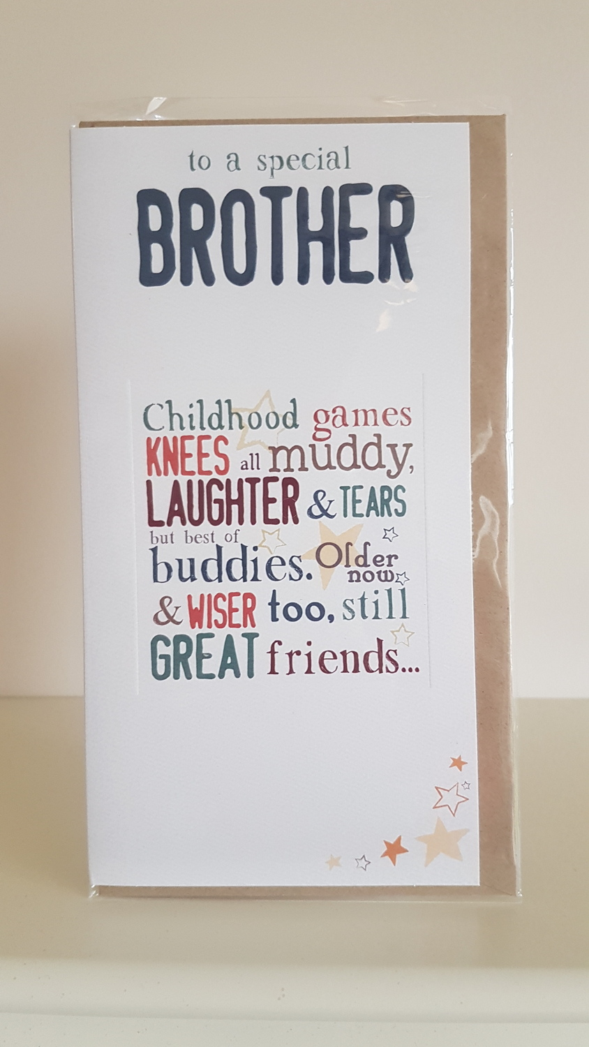 To A Special Brother Birthday Card