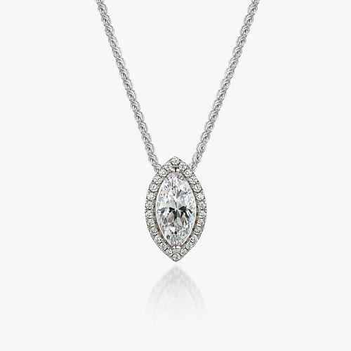 MARQUISE PENDANT & CHAIN