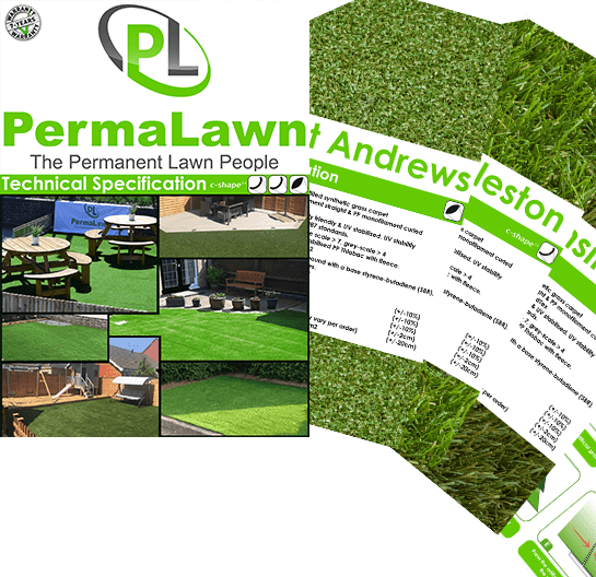 Order your PermaLawn technical specification catalogue today!