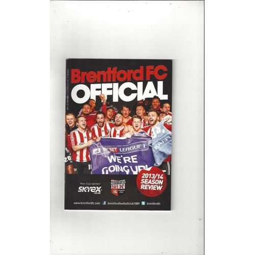 Brentford Official Football Handbook 2013/14