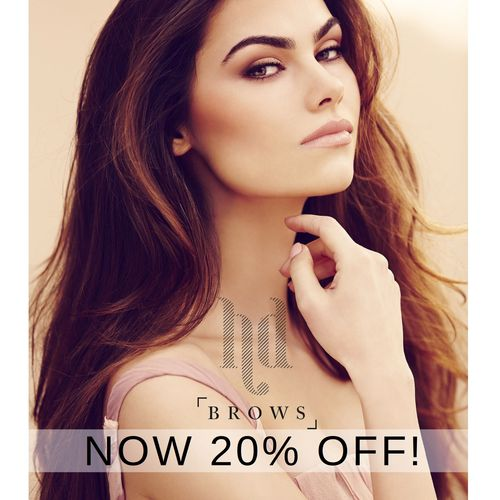Get 20% discount on HD Brows