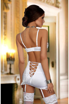 La Bonita Bra and Suspender Skirt Set