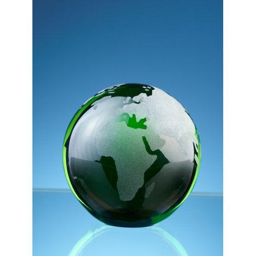 Green Ocean Globe 7cm