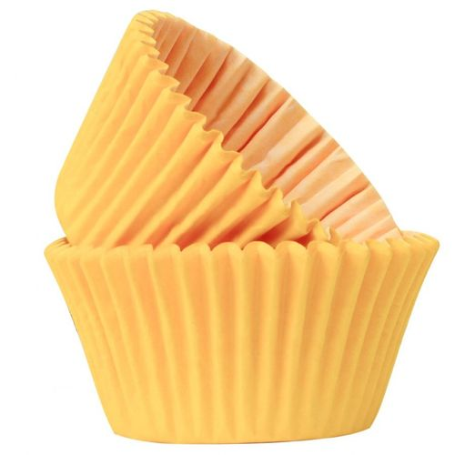 PROFESSIONAL QUALITY CUPCAKE CASES: YELLOW