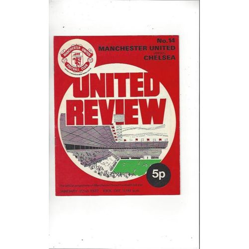 Manchester United Home Football Programmes