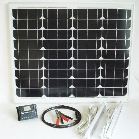 50W Solar Light Kit