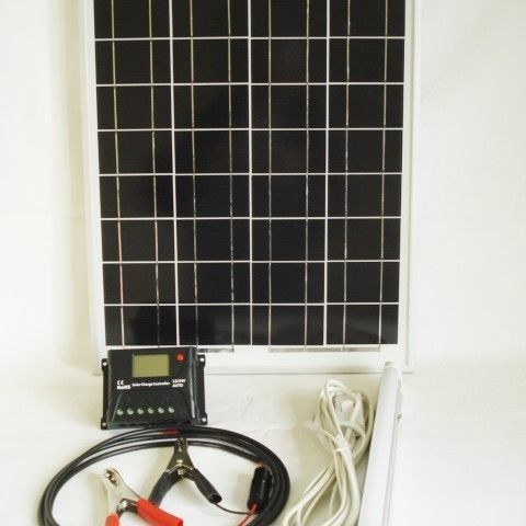 20W Solar Light Kit