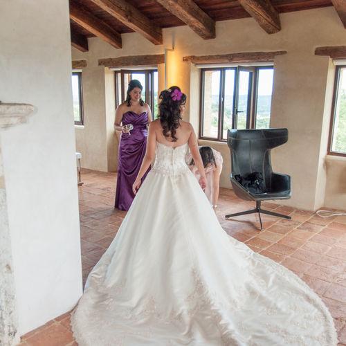 Italian Vineyard Weddings - Hilltop Baron's Palace