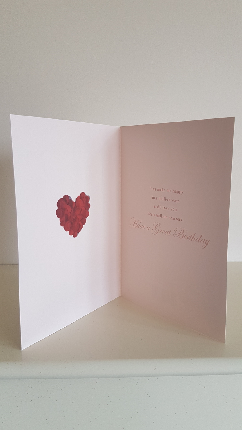 With All My Love Boyfriend Birthday Card Remember That Card
