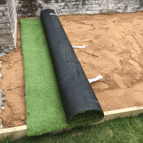 Step 6: Laying your new artificial grass