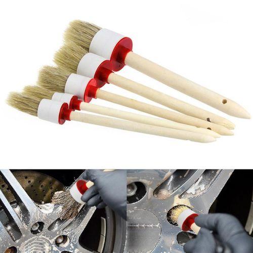 Monza Set of 5 Hogg Hair Detailing Brushes