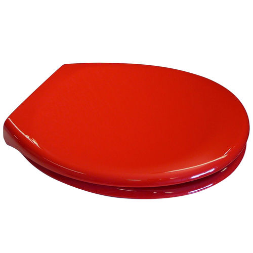 PP RED OPAL TOILET SEAT