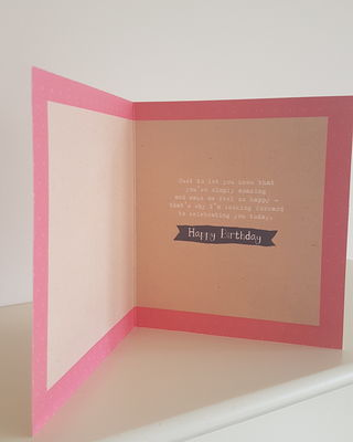 Girlfriend Pink Flowers Birthday Card Remember That Card