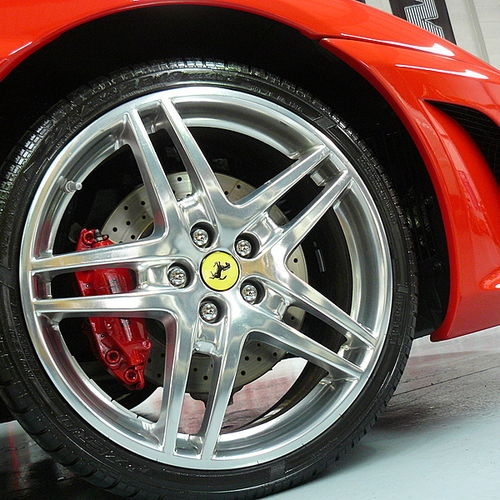 Monza FLEXIBLE SHAFT Microfibre Alloy Wheel Brush