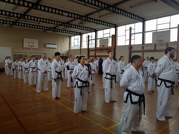 Black Belt Pre-Grading 17th September 2017