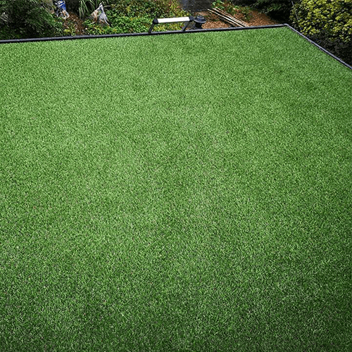 27mm Haddon artificial grass green roof alternative isntallation