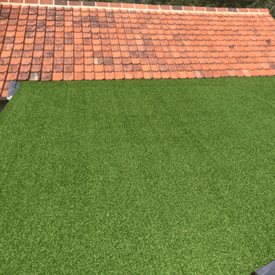 27mm Haddon artificial grass green roof alternative
