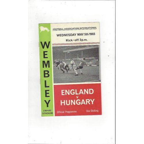 England v Ireland 1965