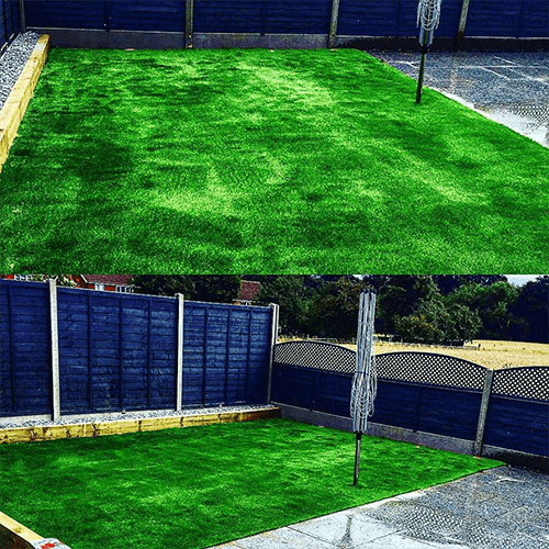 36mm Thornbridge artificial grass installed by C&C Agricultural Service