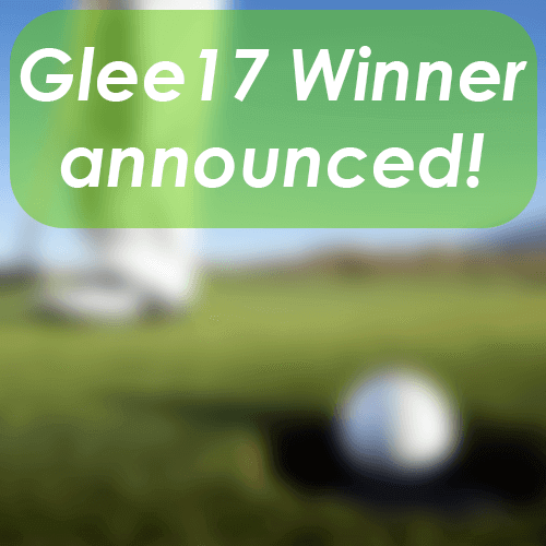 Glee17 charity golf putting winner announced
