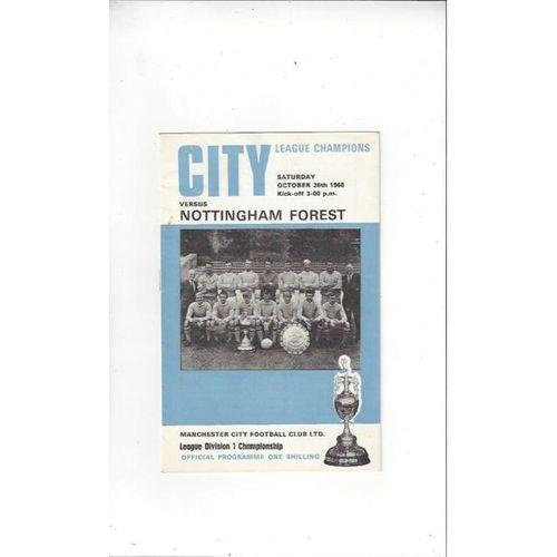 Nottingham Forest Away Football Programmes