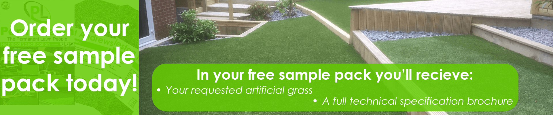 Order your free PermaLawn artificial grass sample pack today!