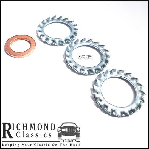 Classic Mini Brake & Clutch Hose Washers - WE600101, 233220A