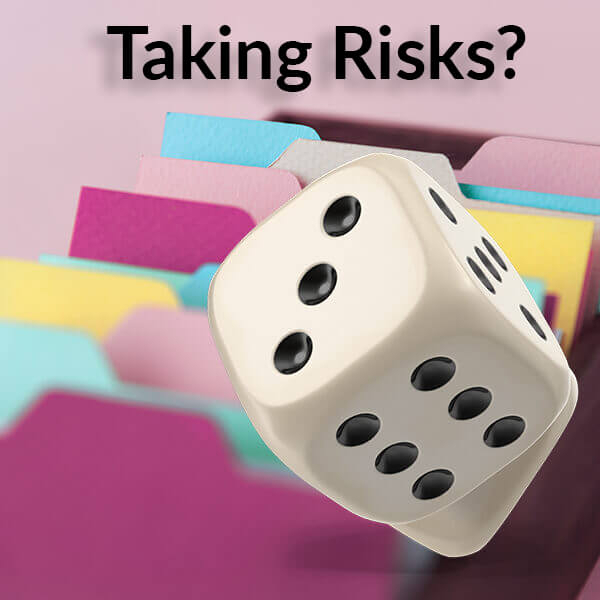 Taking risks with information
