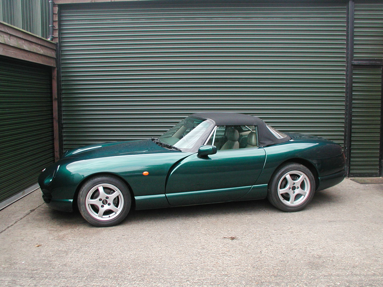 SOLD - 1998 Green TVR Chimaera
