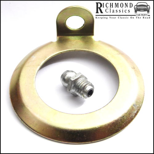 Classic Mini Ball Joint Lock Tab and Replacement Nipple - 2A4238, UHN400