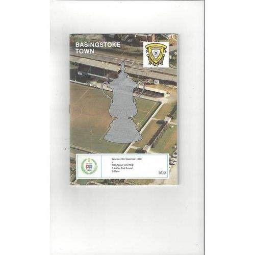 Torquay United Away Football Programmes