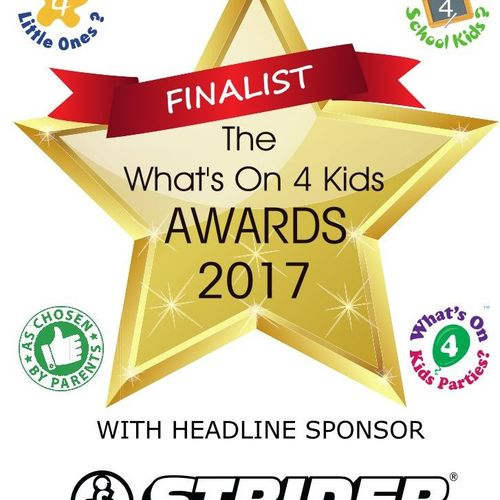 Cook Stars 2017 Finalists in National Awards for the Children's Activities Sector