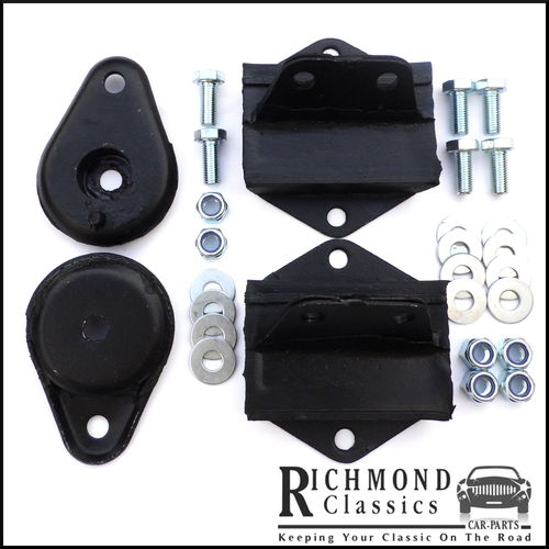Classic Mini Floor Mounts and Pear Drop Mounts 21A2599, 21A2624