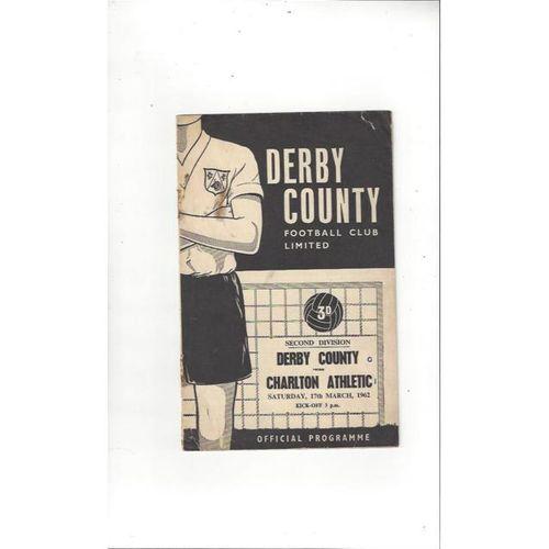 Derby County v Charlton Athletic 1961/62