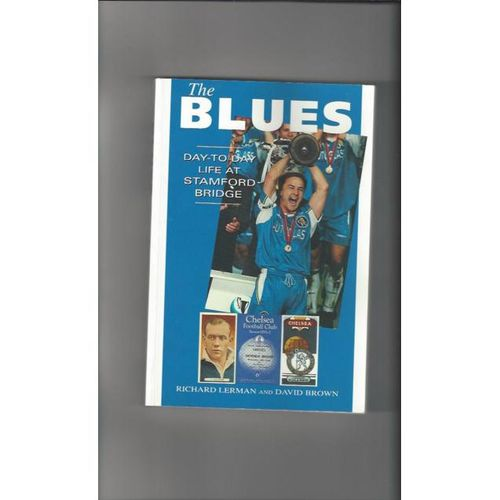 The Blues day to day life at stamford bridge Softback Edition football book 1998