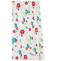 Fun Floral Shower Curtain