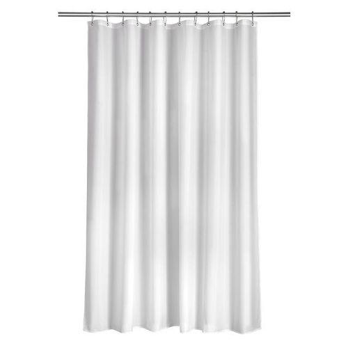 Plain White Pvc Shower Curtain