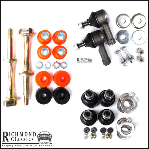 Classic Mini Lower Front Suspension Kit - Track Rod Ends, Ball Joints, Fulcrum Pins