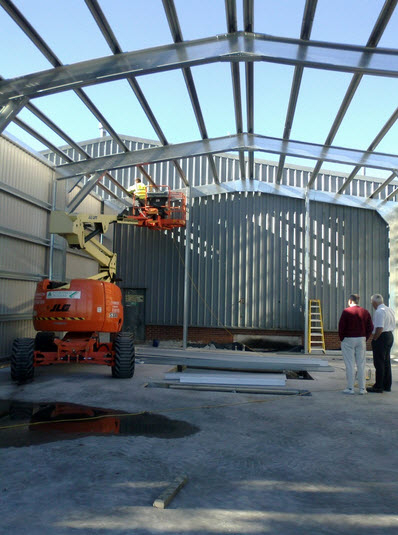 Save relocation costs and expand your steel building instead