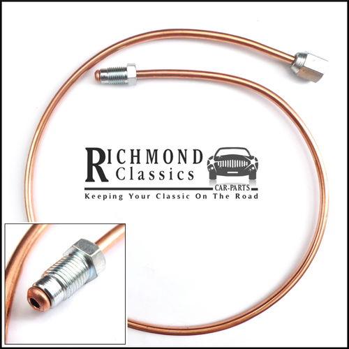 Rear Subframe Copper Brake Pipe Classic Mini - GPP26AC