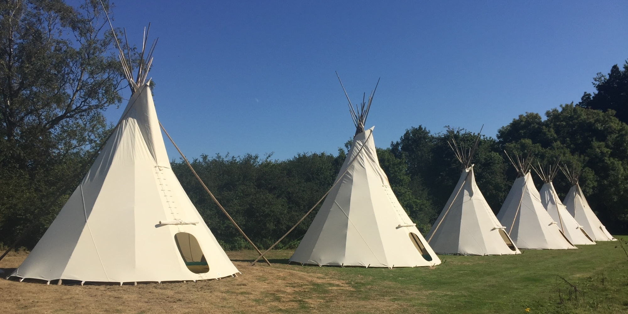 Glamping South England