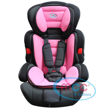 Taurus Pink Baby Car Booster Seat For Group 1/2/3 9-36kg
