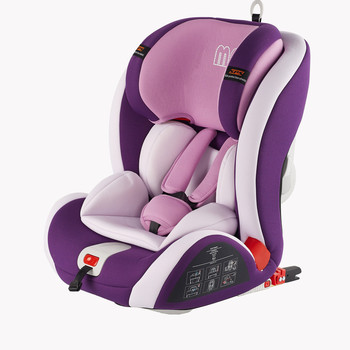 Urban Convertible Car Seat, with ISOFIX system Group 1,2,3 (Purple)