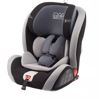 Urban Convertible Car Seat, with ISOFIX system Group 1,2,3 (Black)